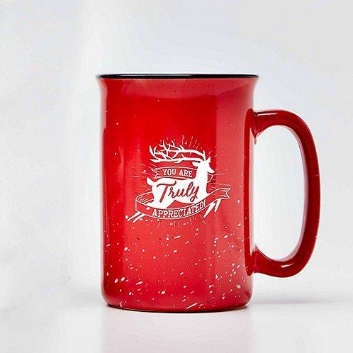 Baudville Holiday Gifts Tall Campfire Mug 2018