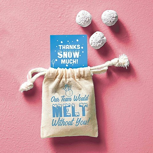 Baudville Holiday Gifts Snowball Seeds 2018
