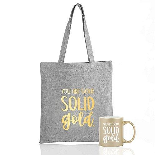 Baudville Holiday Gift Metallic Set 2018