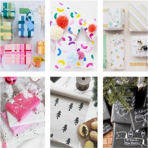 DIY Holiday Gift Wrap Crafty