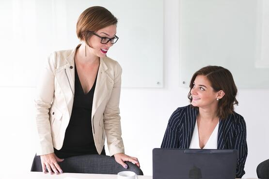 Business women need best friends at work