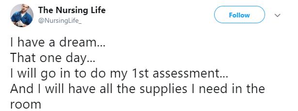 Nurse Life Tweet 16