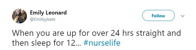 Nurse Life Tweet 6