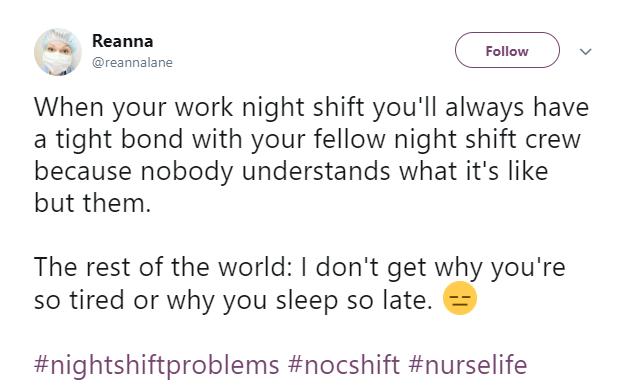 Nurse Life Tweet 8