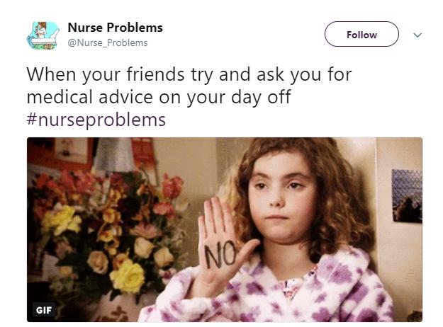 Nurse Problems Tweet 4