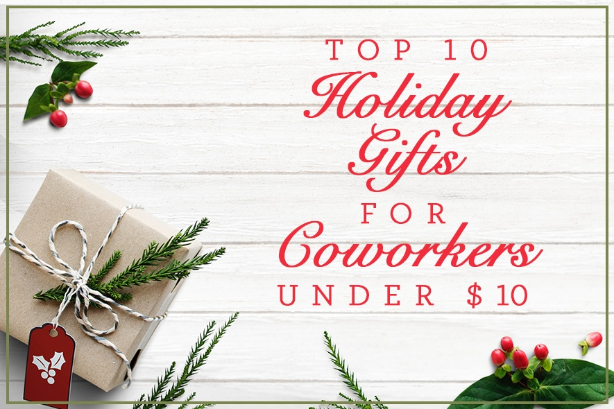 Baudville Top 10 Holiday Gifts for Coworkers Under $10