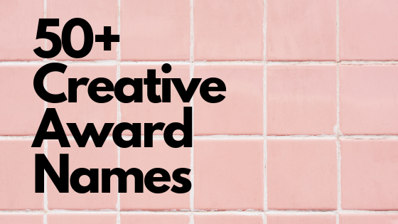 32 Creative Employee Award Names | Baudville
